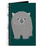 Animal wombat Journals & Spiral Notebooks