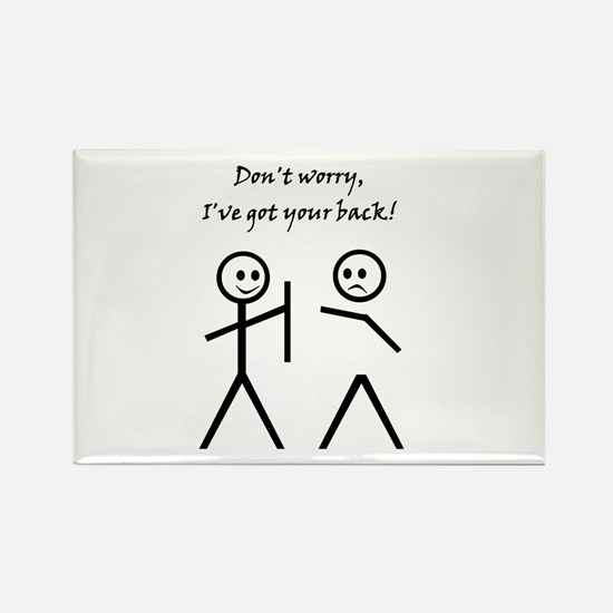 Don't worry, I've got your back! Magnets