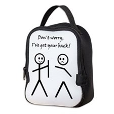 Don't worry, I've got your back! Neoprene Lunch Ba