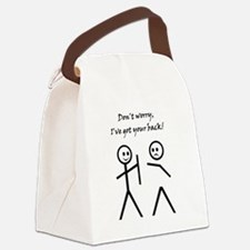 Don't worry, I've got your back! Canvas Lunch Bag