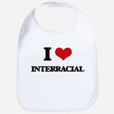 I Love Interracial Bib