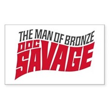Doc Savage Decal