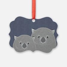 Wombat Ornament