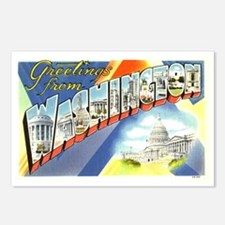 Greetings from Washington DC Postcards (Package of
