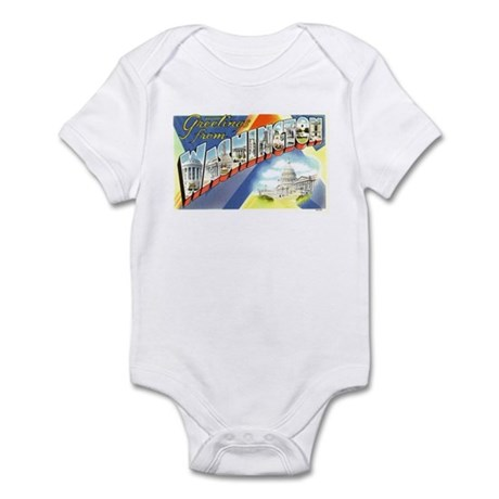 Greetings from Washington DC Infant Bodysuit