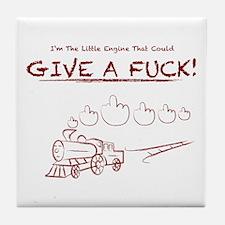 Little Engine Tile Coaster