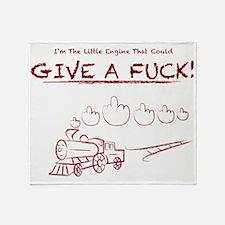 Little Engine Throw Blanket