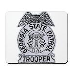 Georgia State Patrol Mousepad
