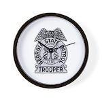 Georgia State Patrol Wall Clock