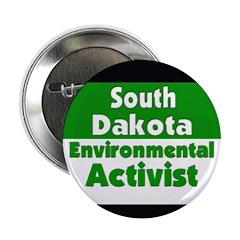 South Dakota Environmentalist Button