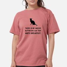Snooze Button Cat T-Shirt