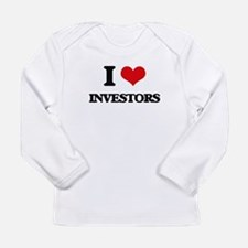 I Love Investors Long Sleeve T-Shirt