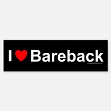 Bareback Bumper Bumper Sticker
