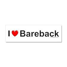 Bareback Car Magnet 10 x 3