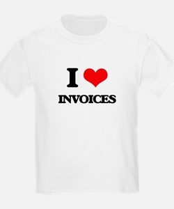 I Love Invoices T-Shirt