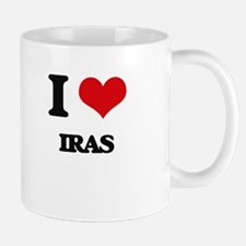 I Love Iras Mugs