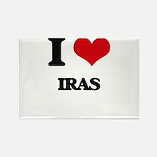 I Love Iras Magnets