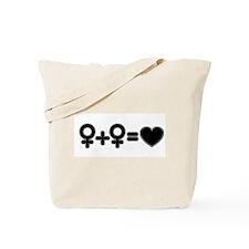 girl+girl Tote Bag