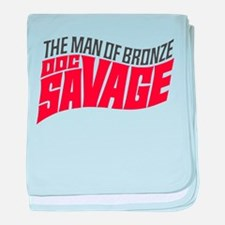 Doc Savage baby blanket