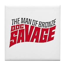 Doc Savage Tile Coaster