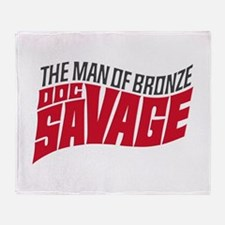 Doc Savage Throw Blanket