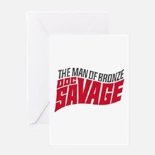 Doc Savage Greeting Cards