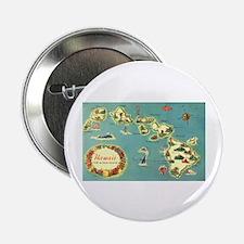 """Hawaiian Islands 2.25"""" Button (10 pack)"""