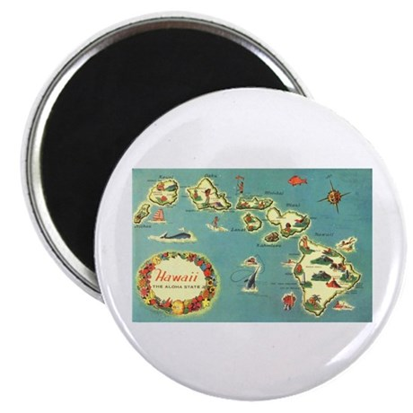 "Hawaiian Islands 2.25"" Magnet (10 pack)"