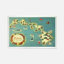 Hawaiian Islands Rectangle Magnet (10 pack)