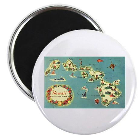 "Hawaiian Islands 2.25"" Magnet (100 pack)"
