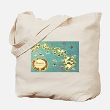 Hawaiian Islands Tote Bag
