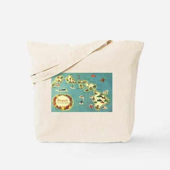 Hawaiian Islands Tote Bag