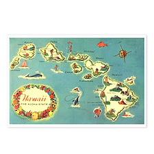 Hawaiian Islands Postcards (Package of 8)