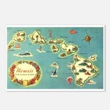 Hawaiian Islands Postcards (Package of 8)