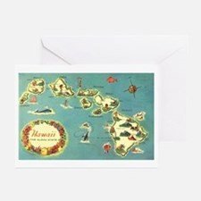 Hawaiian Islands Greeting Cards (Pk of 10)