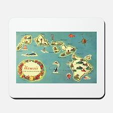 Hawaiian Islands Mousepad