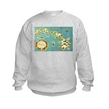 Hawaiian Islands Sweatshirt