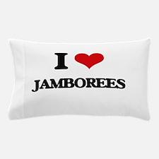 I Love Jamborees Pillow Case