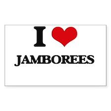 I Love Jamborees Decal