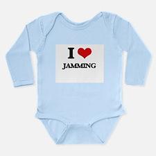I Love Jamming Body Suit