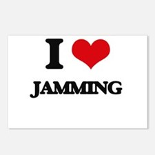 I Love Jamming Postcards (Package of 8)