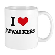 I Love Jaywalkers Mugs