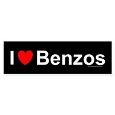 Benzos Bumper Sticker
