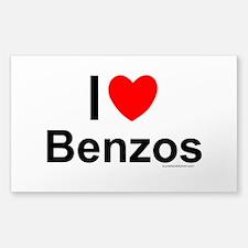 Benzos Sticker (Rectangle)