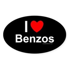 Benzos Decal