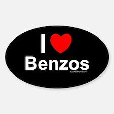 Benzos Sticker (Oval)