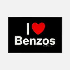 Benzos Rectangle Magnet