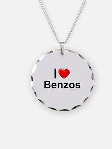 Benzos Necklace Circle Charm