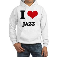 I Love Jazz Jumper Hoody