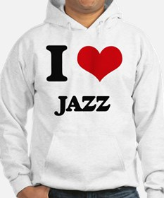 I Love Jazz Jumper Hoody